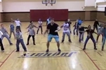 Gym Teacher Choreographs Cardio Version of